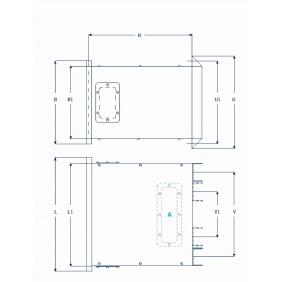 ETAF 1 fase transformator 400V 42V 75VA