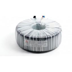 Single phase safety transformer 230V/42V 200 VA in rubber closet