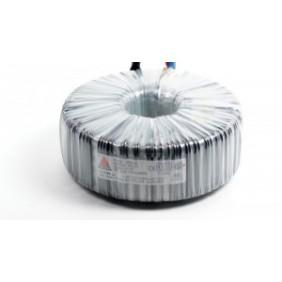 Een fase veiligheidstransformator 230V / 42V 200 VA in rubber kast