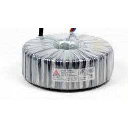 Een fase veiligheidstransformator 230V/24V 250 VA in rubber kast