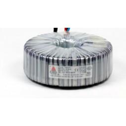 Een fase veiligheidstransformator 230V/24V 300 VA in rubber kast