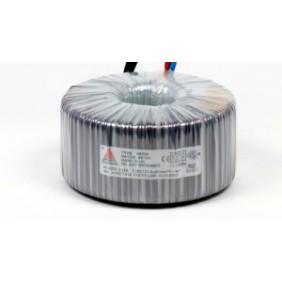 Een fase veiligheidstransformator 230V/24V 500 VA in rubber kast