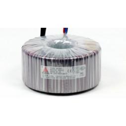 Een fase veiligheidstransformator 230V/42V 500 VA in rubber kast