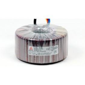 Een fase veiligheidstransformator 230V/24V 630 VA in rubber kast