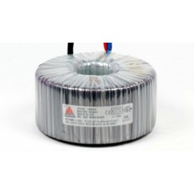 Een fase veiligheidstransformator 230V/42V 630 VA in rubber kast