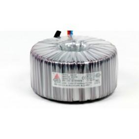 Een fase veiligheidstransformator 230V/24V 750 VA in rubber kast