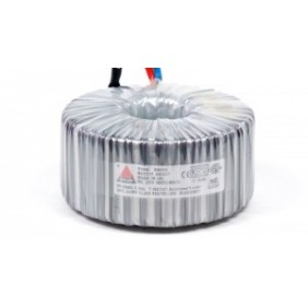 Een fase veiligheidstransformator 230V/42V 750 VA in rubber kast