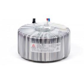 Een fase veiligheidstransformator 230V/24V 1000 VA in rubber kast