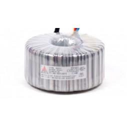 Een fase veiligheidstransformator 230V/42V 1000 VA in rubber kast