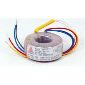 Amplimo ringkerntransformator 230V 2x15V 15VA 08013