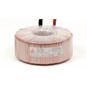 Amplimo toroidal transformer 230V 2x18V 15VA 08014