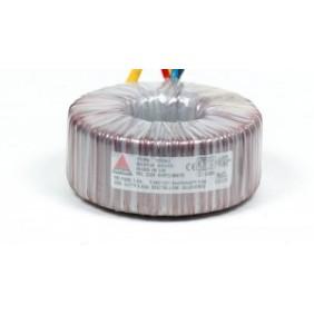 Amplimo toroidal transformer 230V 2x9V 80VA 38011