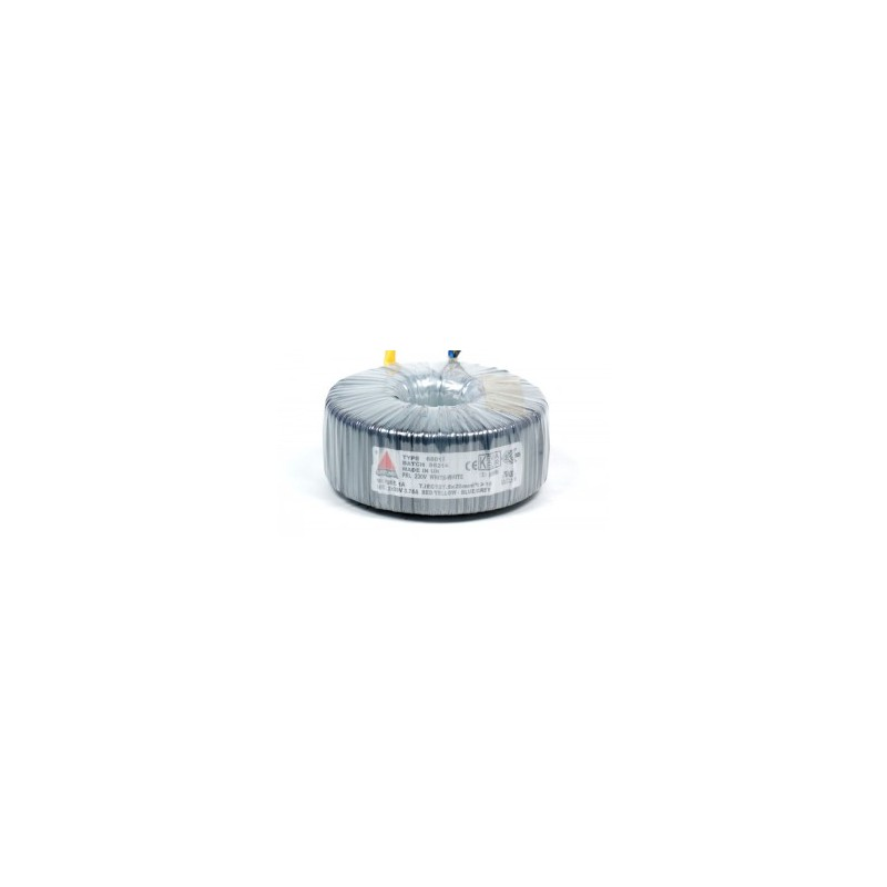 Amplimo toroidal transformer 230V 2x115V 120VA 48070