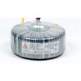 Amplimo toroidal transformer 230V 2x15V 160VA 58013