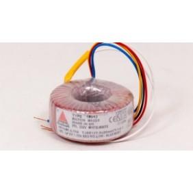 Amplimo ringkerntransformator 230V 2x6V 225VA 68010