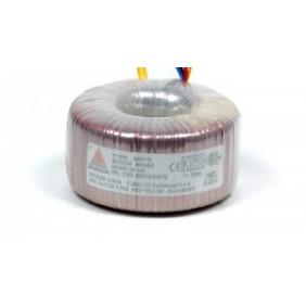 Amplimo ringkerntransformator 230V 2x15V 300VA 78013