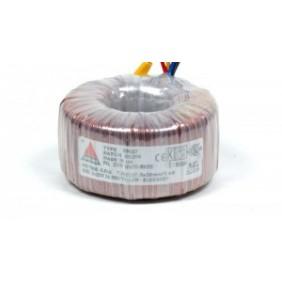 Amplimo ringkerntransformator 230V 2x18V 300VA 78014