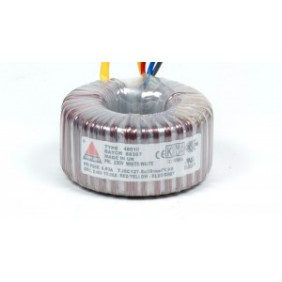 Amplimo ringkerntransformator 230V 2x20V 300VA 78027