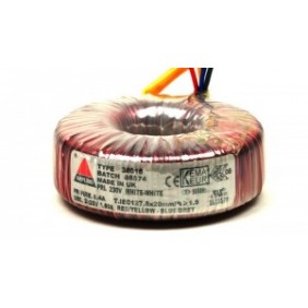 Amplimo ringkerntransformator 230V 2x17V 300VA 78043