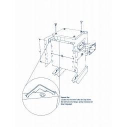 ETAF 1 phase transformer 230V 12V  50VA
