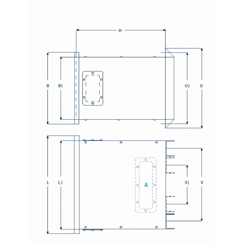 ETAF 1 fase transformator 230V 42V  50VA