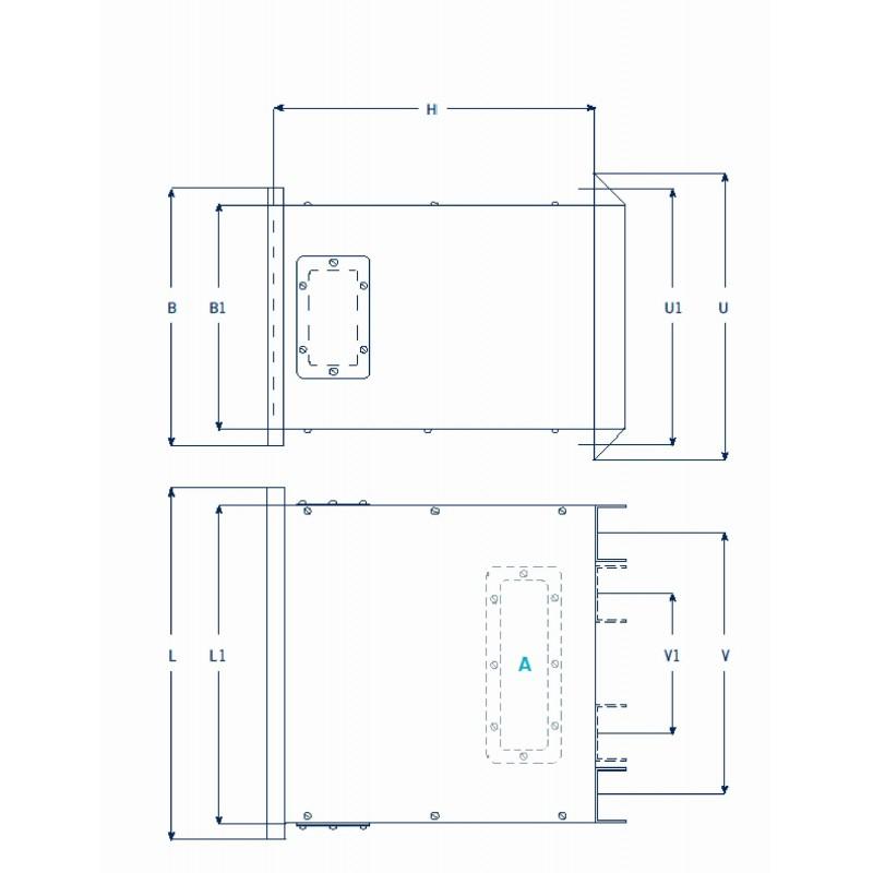 ETAF 1 phase transformer 230V 42V  50VA