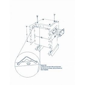 ETAF 1 phase transformer 230V 42V  75VA