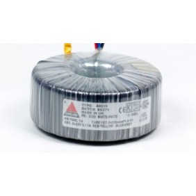 Amplimo toroidal transformer 230V 2x9V 160VA 58011