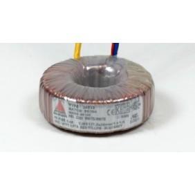 Amplimo toroidal transformer 230V 2x12V 500VA 88012