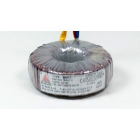 Amplimo toroidal transformer 230V 2x15V 500VA 88013