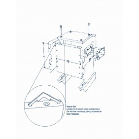 ETAF 1 phase transformer 230V 24V  50VA